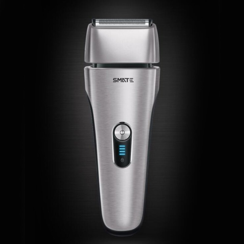 Reciprocating Rechargeable 4 blades Electric Beard Shaver Sideburns Cutter Hair Razor for Men Face Care Razors men s electric shaver usb rechargeable electric shaver beard knife reciprocating