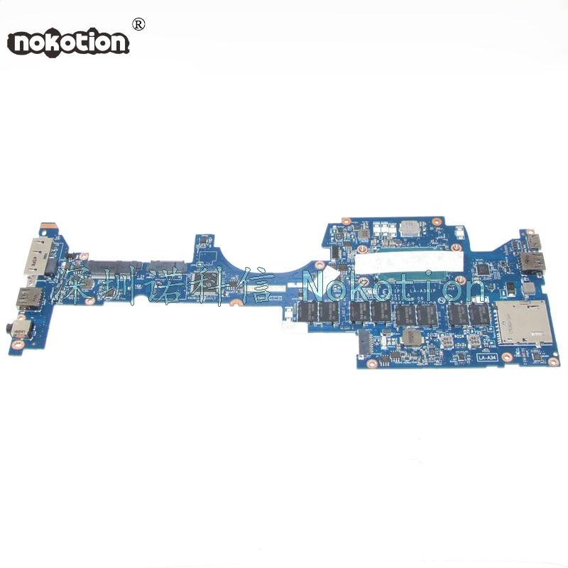 NOKOTION FRU: 04X6417 плата за Lenovo ThinkPad Йога S1 Материнская плата ноутбука zips1 la a341p sr1ea i7 4600u 8 ГБ памяти работает
