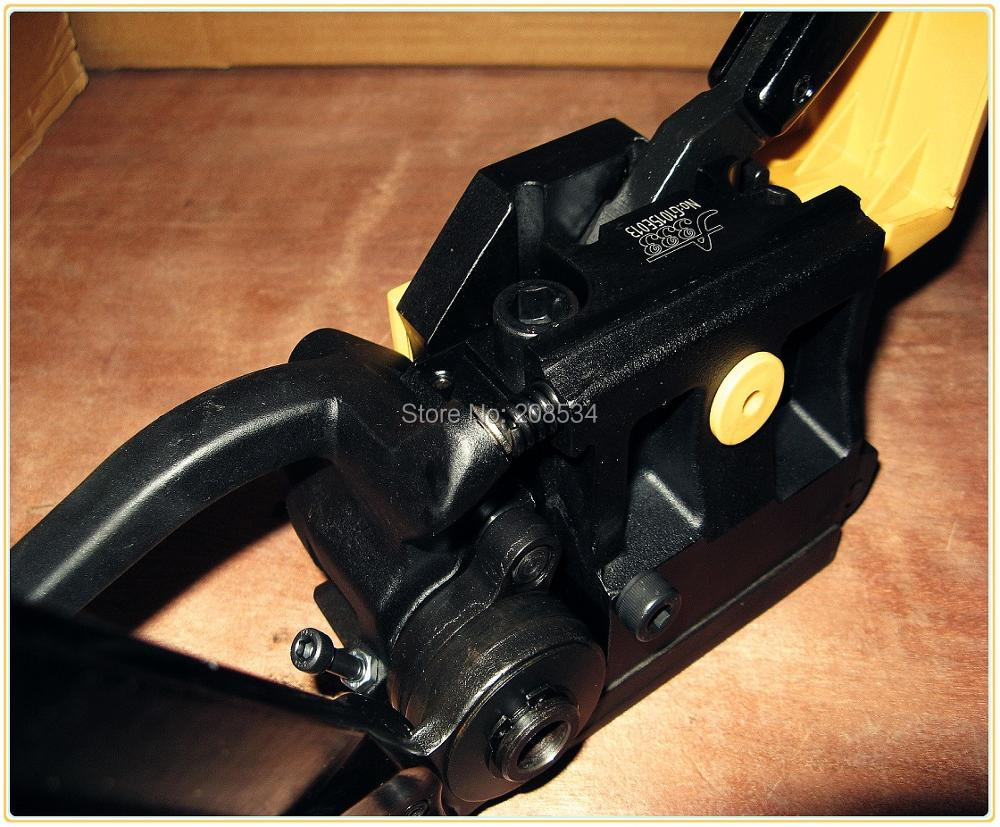 Купить с кэшбэком Buckleless steel strapping machine , manual steel strapping tool, hand held metal strapping machine, packaging tools packer A333