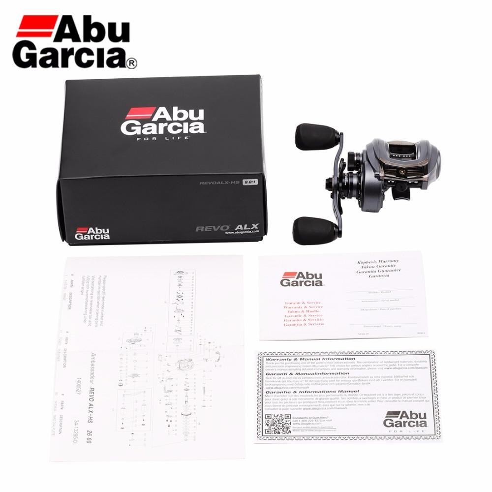 Abu Garcia Revo ALX 8.0:1 Baitcasting Fishing Reel  6