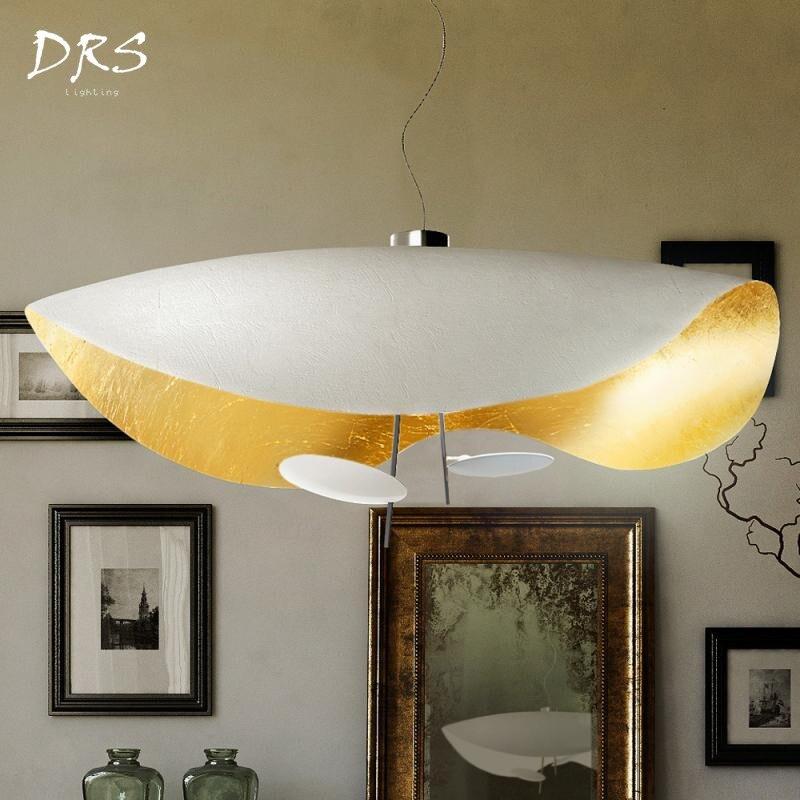 Nordic Postmodern Hanging Lights Design Droplight Pendant Lighting for Restaurants LED Module Modern Minimalist Pendant Light