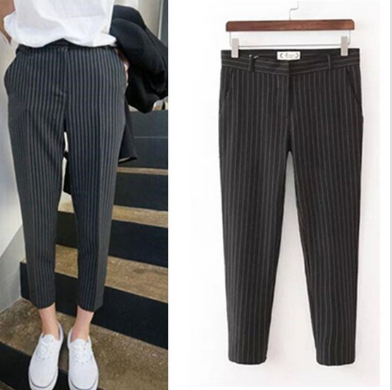 Aliexpress.com : Buy Spring Summer Womens Elegant Harem Suit Pants ...