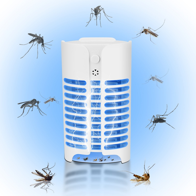 UV LED Mosquito Killer Light Sensor Flying Insect Trap For Home Bug Zapper Trap Lamp Insect Anti Mosquito Repeller Light