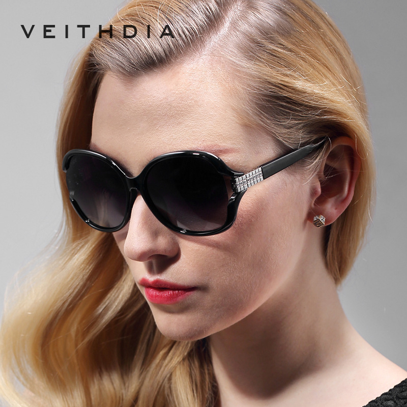 84c84b8410 Retro TR90 Vintage Large Sun glasses Polarized Diamond Ladies Women  Designer Sunglasses Outdoor Eyewear Accessories Female 7019-in Sunglasses  from Apparel ...
