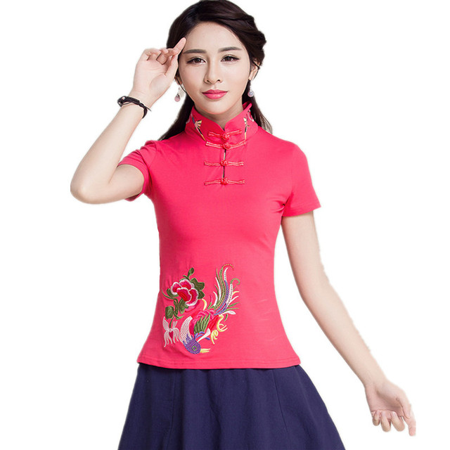2018 Brand Summer Short Sleeve Women T Shirt Cotton Blusas Vintage Woman Clothing 5XL Plus Size Body Tops Tee Embroidery T-Shirt