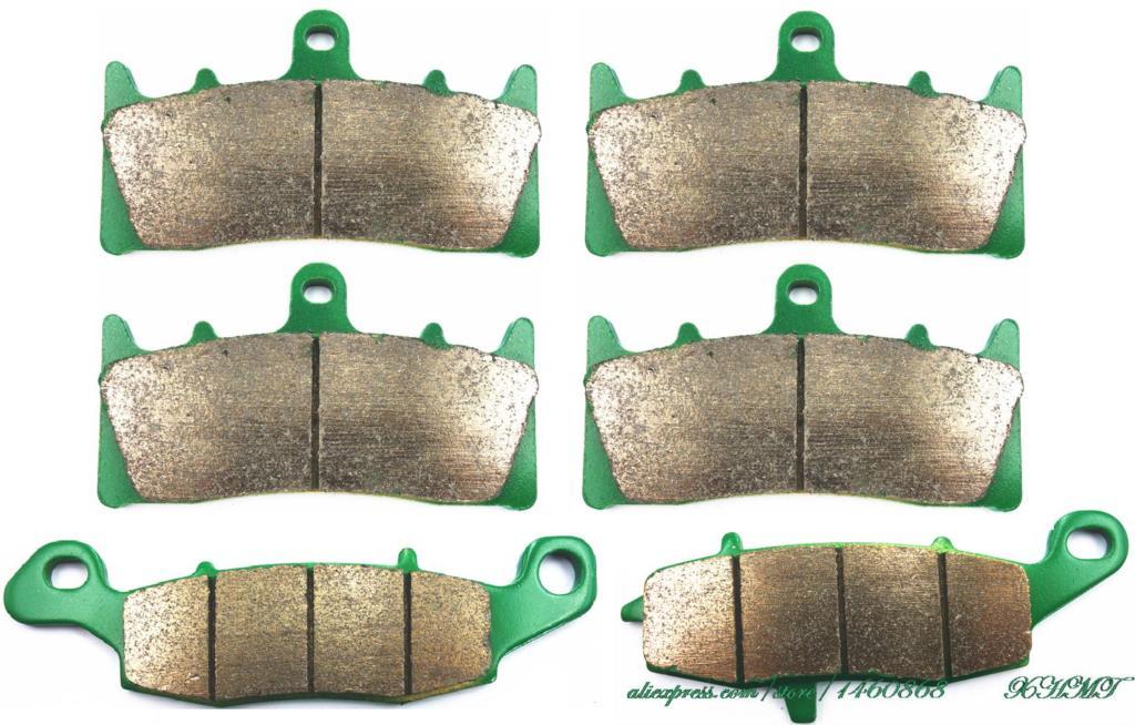 Brake Shoe Pads Set for KAWASAKI MEAN STREAK 1500 2002 2003 / VN1600 VN 1600 2004 & up/ SUZUKI VZ1600 VZ 1600 MARAUDER 2004 &up billet short folding brake clutch levers for kawasaki zx11 zrx1100 1200 zg1000 concours vn 1500 1600 clasic tourer mean streak