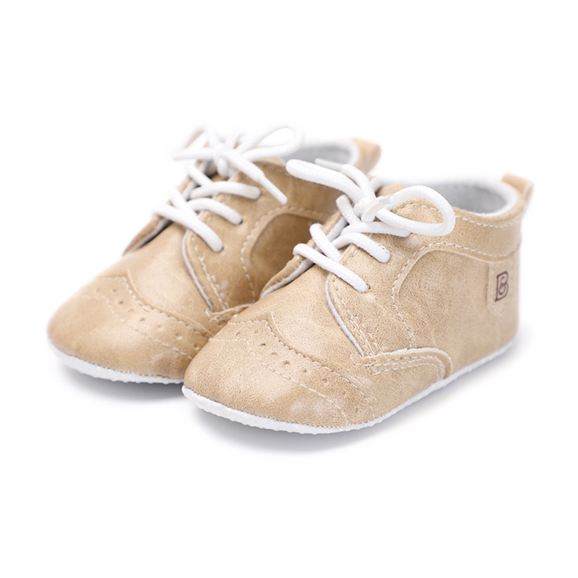 baby shoes first walker boy girl bebe crib shoes PU leather fashion cool sneaker moccasins soft sole moccs lace up kids cute