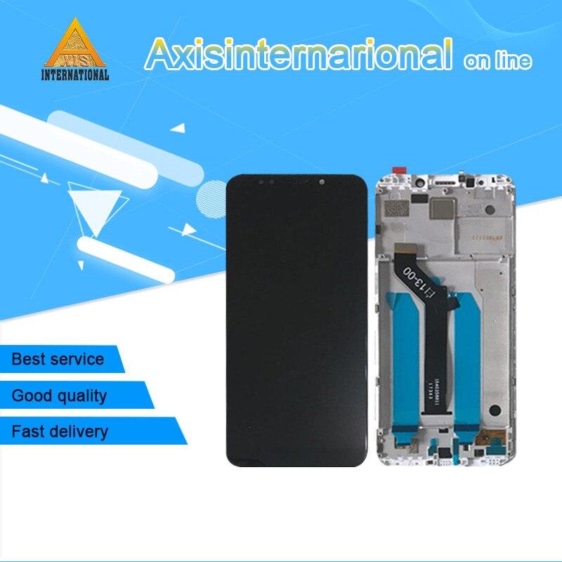 D'origine Axisinternational Pour 5.99 Xiaomi Redmi 5 Plus LCD écran affichage + Écran Tactile Digitizer avec cadre pour Redmi 5 Plus