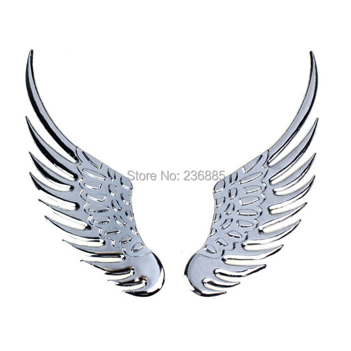 Online Shop D Metal Alloy Angel Hawk Wings Design Car Emblem - Car sign with wings