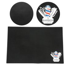 Professional Accessories Hairdresser Hairdressing Countertop Anti skid Silicone Mat Dressing Table Tool Pad for Salon Use