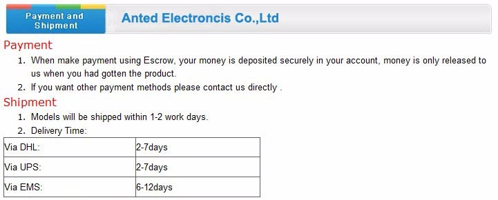 Payment-Anted Electronics