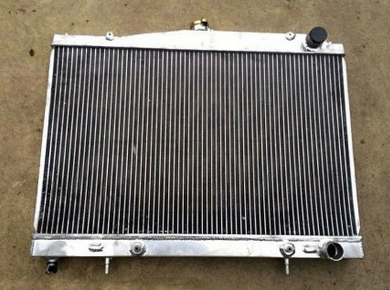 Aluminum Radiator For Nissan Pintara Skyline R33 R34 Auto Manual 1993 2003 AT MT 93 94