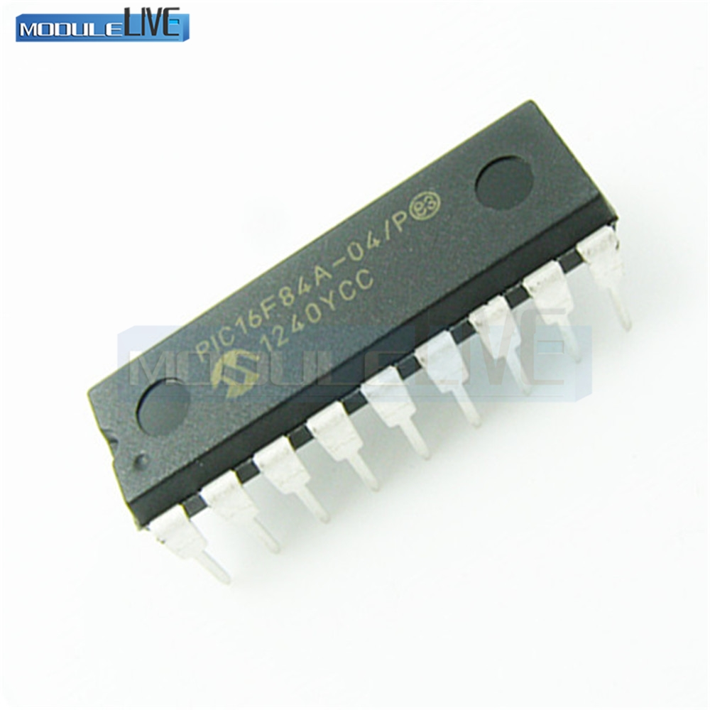1PCS PIC16F84A-04/P PIC16F84A MICROCHIP DIP-18 CHIP IC 1pcs 100% brand new npce885ea0dx npce885eaodx qfp 128 chip ic chipset graphic chip