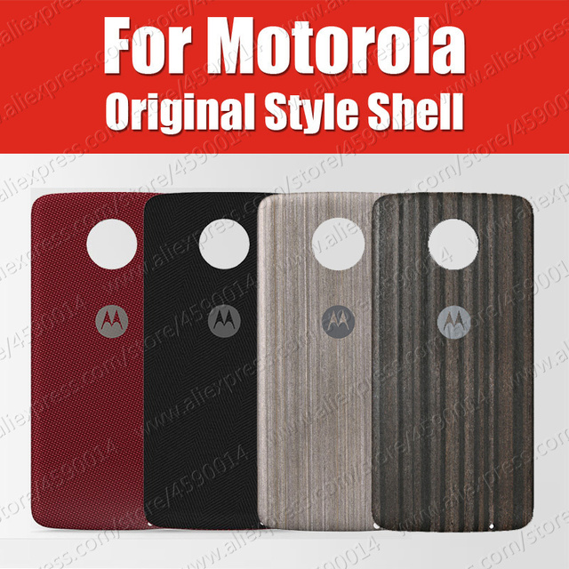 huge discount 509df 1fec4 US $9.88 |Moto Mods Official Original Z2 Force For Moto z3 play Case  Magnetic Style shells battery back cover Ebony Nylon-in Fitted Cases from  ...
