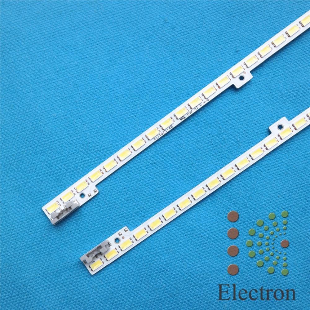Prix pour 440mm Rétro-Éclairage LED Lampe bande 62 leds Pour 40 pouce LCD TV UA40D5000PR BN64-01639A LTJ400HM03 2011SVS40-FHD-5K6KH1-1CH-PV 2 pcs