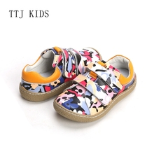 COPODENIEVE  Brand High Quality Fashion Fabric Stitching Kids Children Shoes For Boys And Girls 2019 Spring Barefoot Sneakers