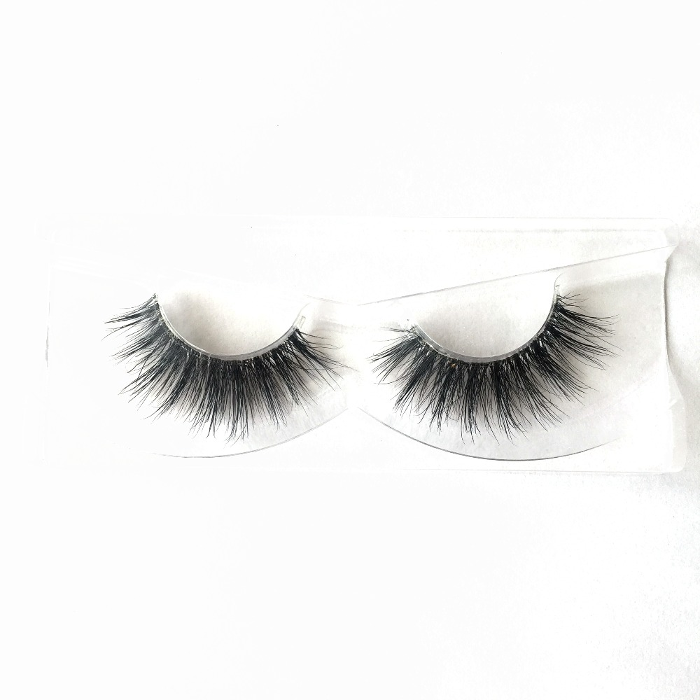 Custom Packaging Invisible Band 1 Pair Full Strip Lashes Free