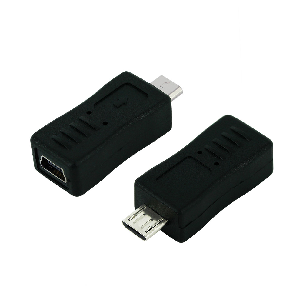Mini USB Female To Micro USB Male Cable Adapter Universal Cable Converter