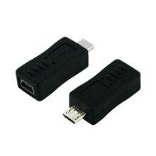 Mini USB Female to Micro USB Male Cable Adapter Universal Cable Converter mini usb female to micro usb male adapter converter