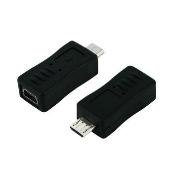 цена на Mini USB Female to Micro USB Male Cable Adapter Universal Cable Converter