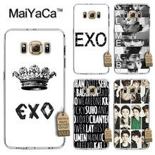 MaiYaCa Kpop EXO Lucky one Newest Fashion Luxury phone case for Samsung S3 S4 S5 S6 S6edge S6plus S7 S7edge S8 S8plus(China)