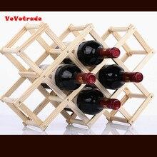Ликера для того, чтобы сохранить проникновения красное вино деревянный винный шкаф 3/6/10 бутылки держатель Кухня выставка Кухня аксессуары