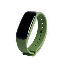 C1 браслет динамический монитор сердечного ритма Smart Band в реальном времени шагомер калорий браслет спортивные группы для iOS и Android