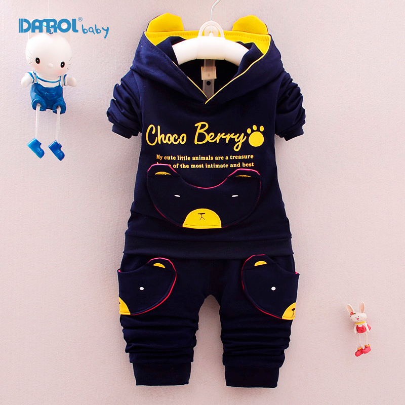 2 piece/set Winter Autumn Baby Boys Clothing Set Cotton Sport suit for Boys Cartoon Children Clothe Set Hooded boy Clothes TZ004 2017 new boys clothing set camouflage 3 9t boy sports suits kids clothes suit cotton boys tracksuit teenage costume long sleeve