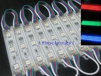20 pcs 3 LED RGB 5050 SMD Módulo Impermeável Lâmpada Luz de Tira DC 12 V
