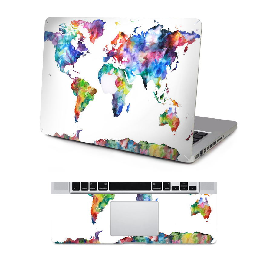Map of the world keyboard sticker gumiabroncs Gallery