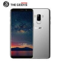 Оригинальный BLUBOO S8 Плюс/S8 мобильных телефонов 3 ГБ + 32G/4 Гб + 64 Гб Встроенная память Android 7,0 Octa Core смартфон с двумя sim-картами HD + 4 аппарат не прив...