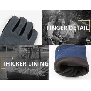 Image 3 - OZERO Welding Glove Work Welders Cowskin Leather Barbecue Gloves Working Garden Protective Cut Resistant Long Sleeve Glove 2415