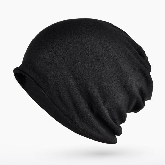 8c88397091347 Beanie for Men Women Baggy Skull Cap Slouchy Winter Warm Hat Reversible  Knit Ski Headgear Multifunction 3 in 1 Scarf Face mask