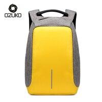 Multifunction USB Charge Anti Theft Backpack Men Travel Oxford Waterproof School Bags College Teenage Male Laptop