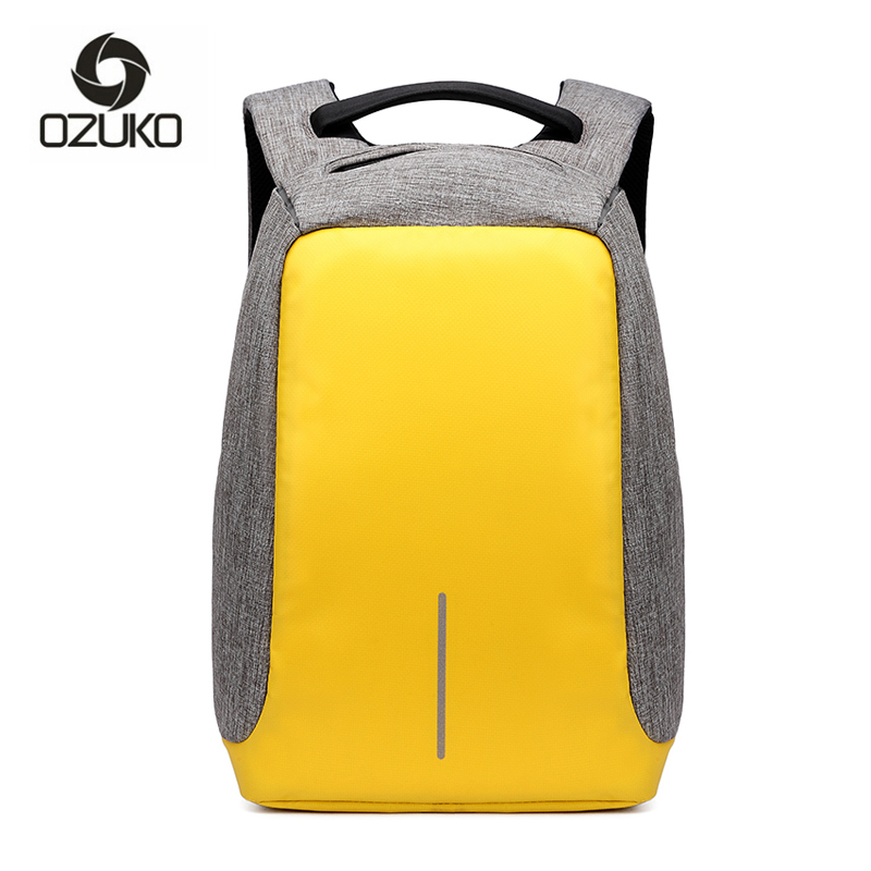 Multifunction USB Charge Anti Theft Backpack Men Travel Oxford Waterproof School Bags College Teenage Male Laptop Backpacks
