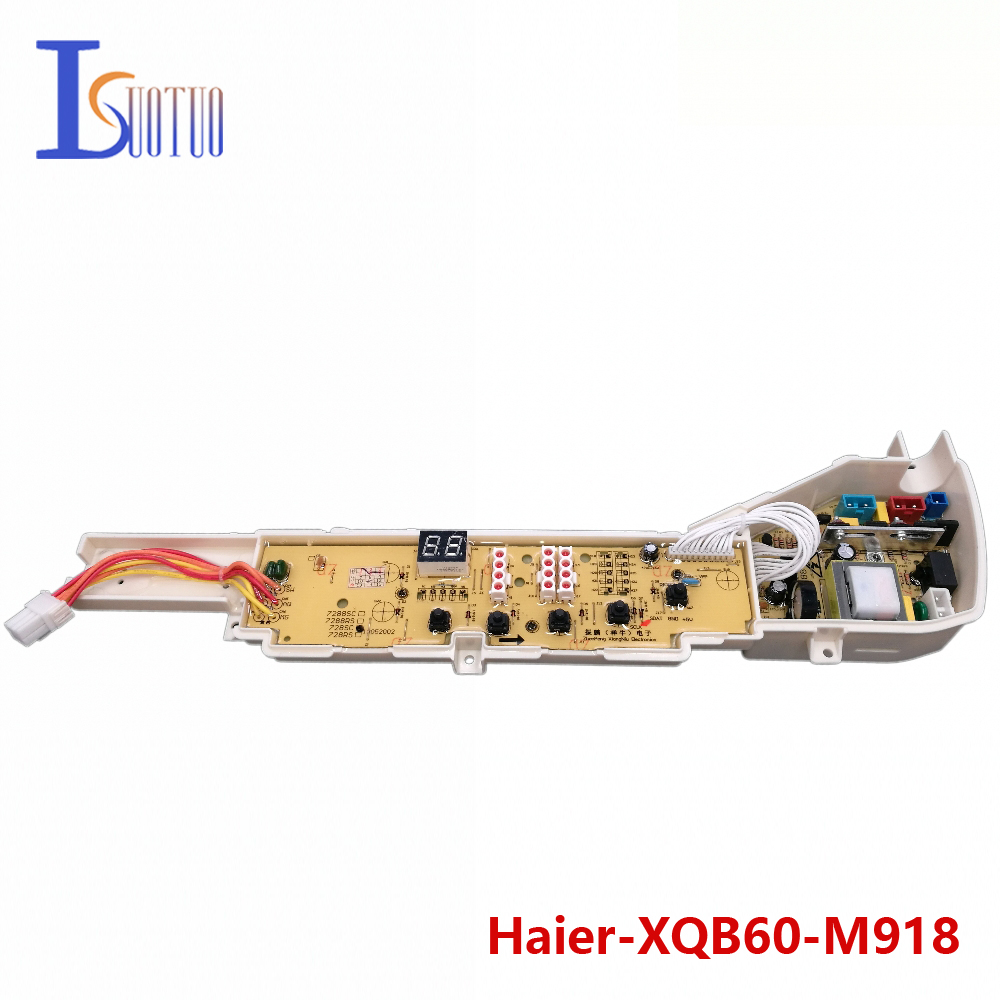 Haier washing machine brand new computer board XQB60-M918 XQB70-M918 XQB70-7288FM 95% new original good working inverter washing machine board for xqb70 j85s xqb60 t85 xqb70 t85 xqb60 j85s on sale