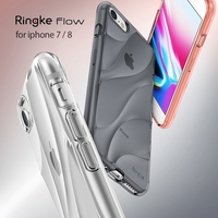 Ringke Flow Case For IPhone 8 IPhone 7 Minimalist Wavy Textured Fitting Lightweight Drop Resistant Protection