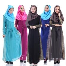 2017 Islamic Jilbab Islamic Clothing Marocain Jilbab Formal Muslim Abaya For Women Direct Selling New Adult