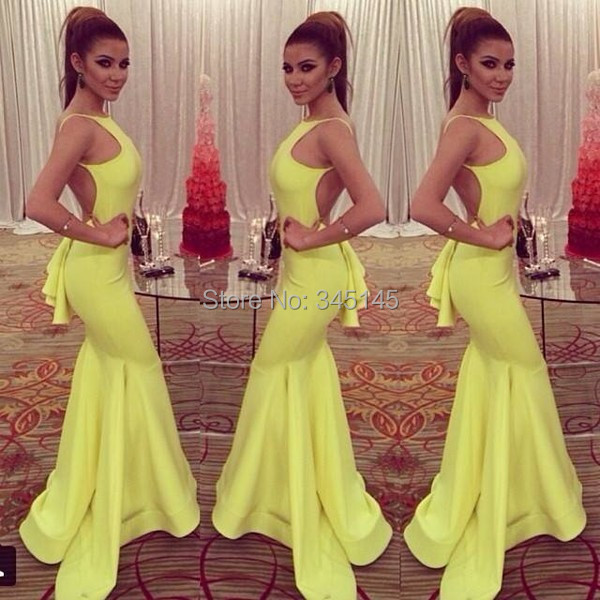 Sexy conception sirène licou longueur de plancher robe de bal conception formelle femmes robes de bal offre spéciale