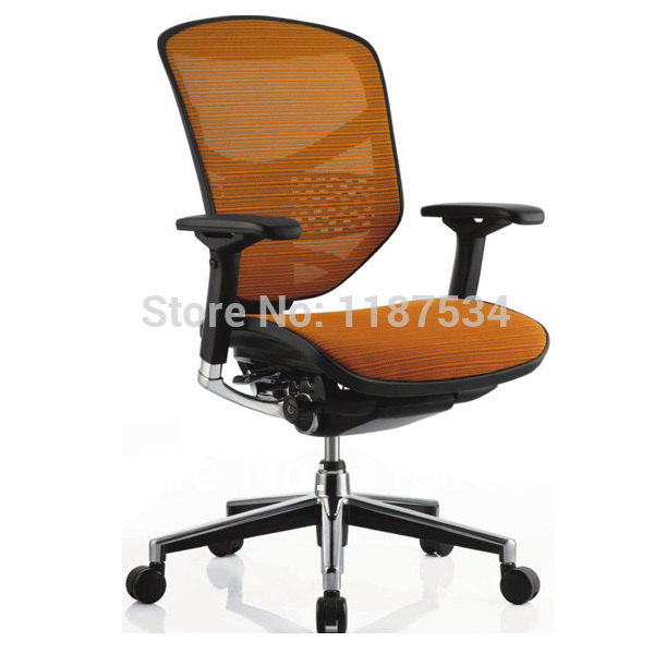 Office Executive lift mesh swivel comfortable chair ergonomic office working chair computer chair home office chair mobile no handrail small lift swivel chair mesh staff chair
