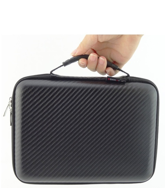 High Quality Big Waterproof Bag for External Hard Drive Disk/Phone/Camera/ Portable HDD Box Case Doctor Receive Package OEM