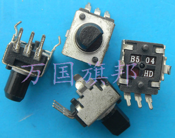 Free Delivery.09320902500 K potentiometer B500K B504 small vertical axis half image