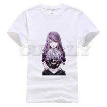 2019 anime Cotton Tokyo Ghoul Kaneki Ken streetwear oggai / Sasaki graphic shirt men tshirts fashions Mens Clothing