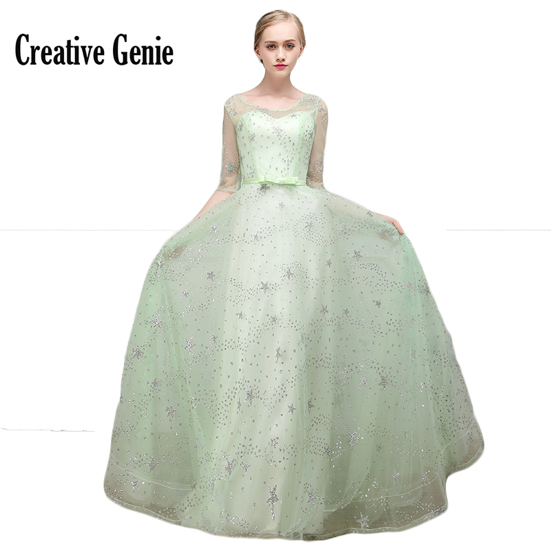 Ball Gown Wedding Party Dress Plus Size Candy Color Long