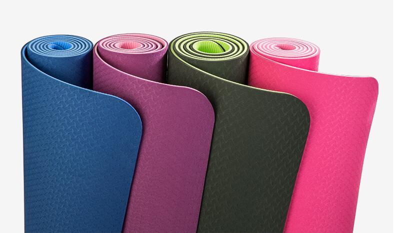 Tapis de yoga TPE fitness tapete épais antidérapant Gym fitness musculation esterilla Pilates gymnastique exercice yoga tapis 183*61*6mm