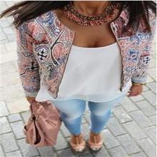 2015 Women Casual  Bomber Jacket Autumn Winter Fashion O Neck  Zipper Slim Jacket Coat Jaqueta Feminina Plus Size Free Shipping