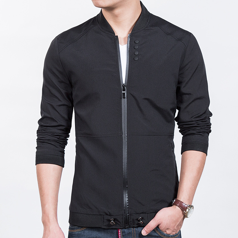 Popular Black Jacket Men-Buy Cheap Black Jacket Men lots from