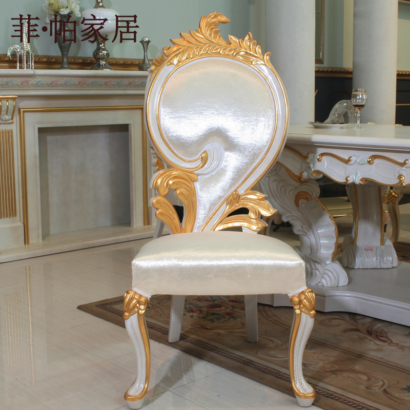 Luxury Italian Style Dining Chairs Solid Wood Hand Carved Chair Free  Shipping In Dining Chairs From Furniture On Aliexpress.com | Alibaba Group