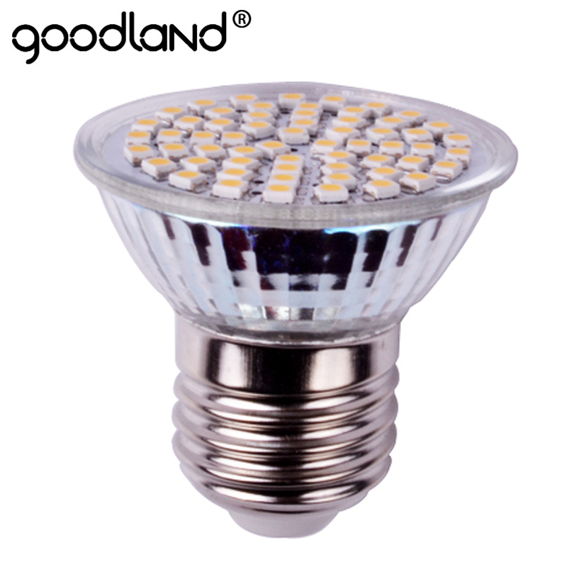 Goodland E27 LED Lamp 3W E14 GU10 AC220V 240V LED Spotlight High Bright LED Bulb Spot Light For Living Room LED Lighting