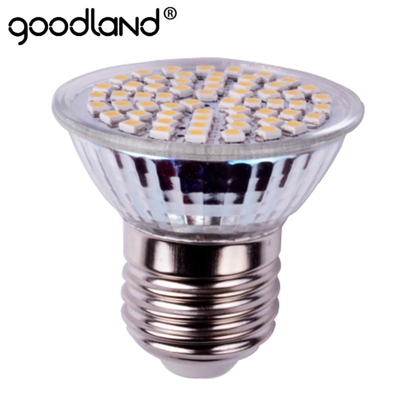 Goodland E27 LED Lamp 3W E14 GU10 AC220V 240V LED Spotlight High Bright LED Bulb Spot Light For Living Room LED Lighting